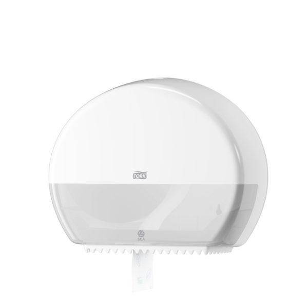 Dispenser hartie igienica Tork mini jumbo Alb