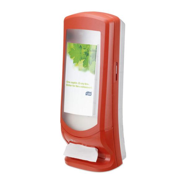 Dispenser servetele Bar Fast Food Tork Rosu