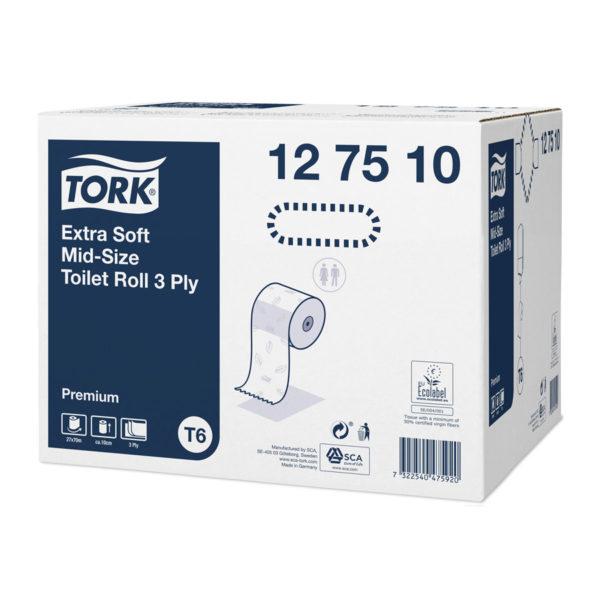 Hartie igienica Tork T6 Extra Soft Premium