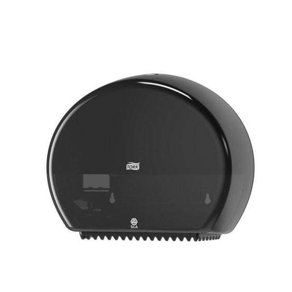 Dispenser hartie igienica Tork mini jumbo Negru