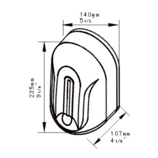 Dispenser sapun/dezinfectant cu senzor sd110