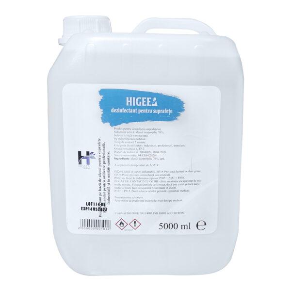 Dezinfectant virucid suprafete Higeea 5L