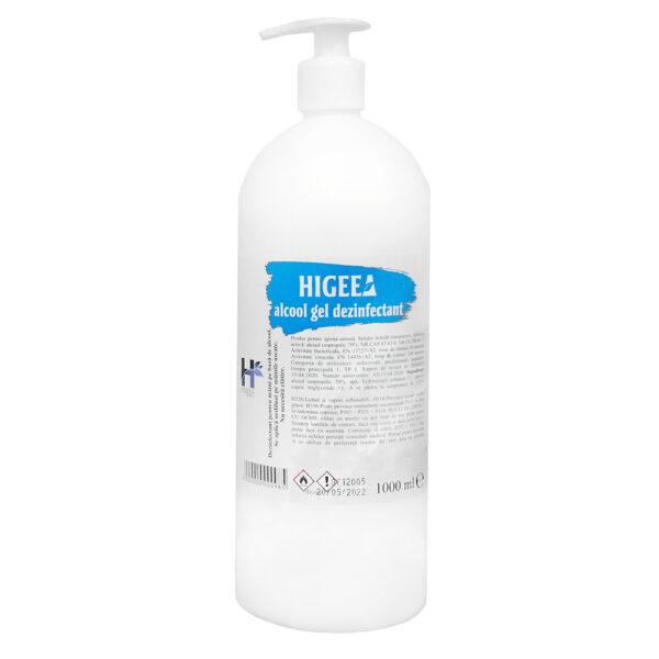 Gel dezinfectant de maini Higeea 1L cu pompita